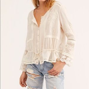 Spell & The Gypsy Maggie Embroidered Blouse